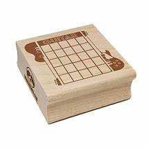 Split Electric Guitar Chord Chart Square Rubber Stamp for Stamping Craft... - $6.99
