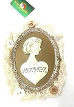 Kurt Adler Lace Plaque Ornament (Mother) - $14.85