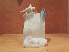 Lladro Collectors Society Art Brings Us Together #07677 1998 Daisa Dove ... - £11.14 GBP