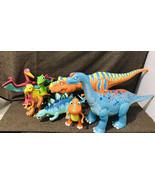 7 x Jim Henson's Dinosaur Train Lovable Character Interactive Toy Lot - $346.50