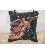 Angel Heart Pillow/Ornament / angel pillow ornament / tapestry pillow /t... - $15.00
