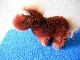 Ganz Lil Kinz Brown Plush Horse Stuffed Animal Toy - $3.35