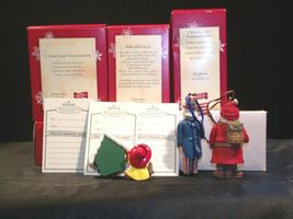 Hallmark Handcrafted Ornaments AA-191785 Collectible (4 Pieces ) image 5