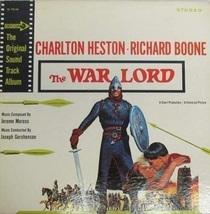 War Lord,The - Soundtrack/Score Vinyl LP ( VG+ Cond.) - £25.30 GBP
