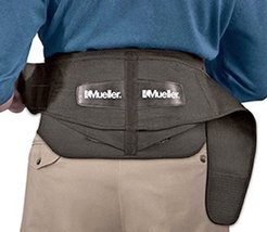 Mueller Lumbar Regular Back Brace With Removable Pad, 2 Pack - $69.98