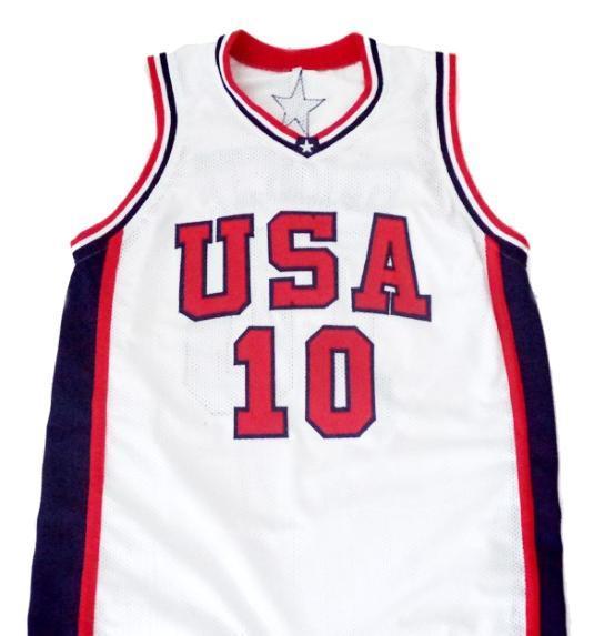Kevin garnett  10 team usa new men basketball jersey white 1