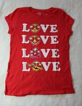 Childrens Place Girls Red Emoji Love Tee You Choose Sz 7/8 10/12 14 Spri... - $17.99