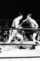 World in My Corner Audie Murphy Boxes in Ring 24x18 Poster - $23.99