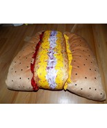 Size XL Extra Large Hot Dog Hotdog Food Pet Halloween Costume New - $24.00