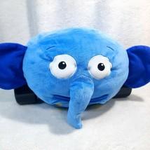 Rare Disney Jungle Junction Ellyvan Elephant Plush Stuffed Animal Car Elly Blue - $49.88
