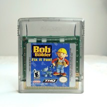Bob the Builder Fix it Fun Nintendo Game Boy Color LOOK Free Same Day Shipping - $9.47