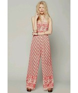Free People Strapless Vintage Tube Romper Jumpsuit Size X Small - $58.90