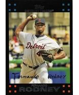 Fernando Rodney Topps 2007 #448 Detroit Tigers Oakland Athletics Tampa B... - $0.15