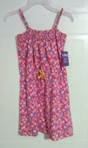 LOVE @ first SIGHT Girl's Dress - Pink with Floral Print - Size: S (6/6X) - $8.70