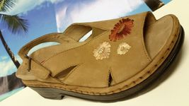 WOMENS KLOGS RITA SANDAL ULTRA M SANTA EXCELLENT TAN 9 SUEDE pHHUqwd