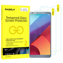 Screen Protector [2Pack PASBUY Retailbox] Tempered Glass for LG G6 - $5.83