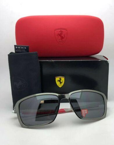 Polarisiert Oakley Sonnenbrille Scuderia Ferrari Tincan OO4082-09 Schwarz Chrom image 11