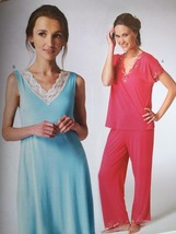 Kwik Sew Sewing Pattern 3980 Misses Ladies Top Pants Nightgown Size XS-X... - $14.85