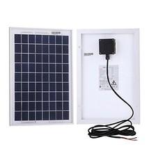 Komaes 10 Watts 12 Volts Polycrystalline Solar panel Kit BK910 - $54.32