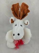 """Ace Novelty White Moose Elk Plush 9"""" Stuffed Animal Toy - $9.95"""