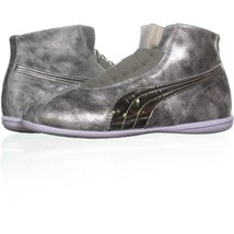 Puma Eskiva Mid Cross-Trainer Sneakers 892, Silver Metallic, 9 US / 40 EU - $47.99