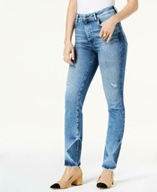 M1858 Audrey High-Rise Slim Straight-Leg Jeans 2/26 - $24.01