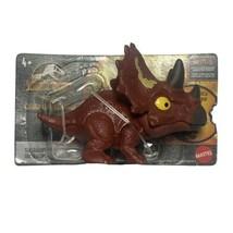 Jurassic World Camp Cretaceous Snap Squad Triceratops 2021 Mattel HBX47 New - $22.94