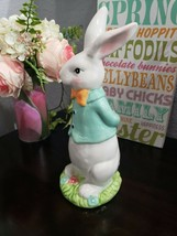 "ADORABLE! Easter Spring  Bunny Rabbit Statue Figurine Tabletop Decor 10.5"" - $26.99"