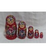 Set of 5 Russian Nesting Dolls - $15.84