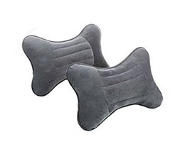 Gray Automotive Neck Pillows Neck Pillow Car Pillow Car Neck Pillows Head Pillow