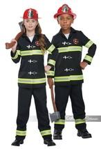California Costumi Bambini Fuoco Capo Pompiere Bambini Costume Halloween... - $35.63