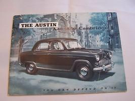 1957 Austin Cambridge Owner Sales Brochure A 40 A50 - $14.99