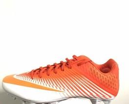 Nike Lacrosse Cleats Size 12.5 Vapor Speed 2 VPR 856507-881 New Orange - $40.74