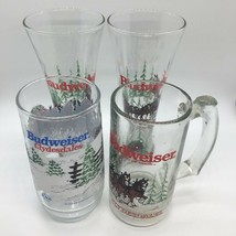 Vintage Budweiser Clydesdale Horses Glasses - $17.99