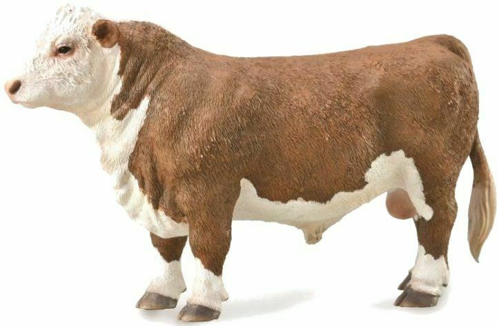 Primary image for  CollectA  Hereford Bull - Polled   88861  beautiful  well made ***<>