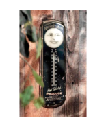 Harvest Moon Thermometer Wall Hanging Sculpture  - $31.15