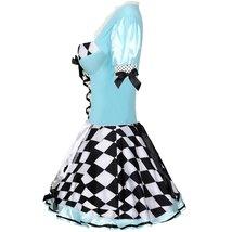 Sweet Blue Lolita Costume Alice In Wonderland Cosplay image 4