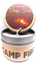 Camp Fire - 4oz All Natural Soy Candle Tin Approximate Burn Time 30+ Hours - €5,08 EUR