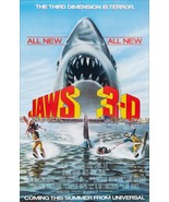 """JAWS """"3D"""" Movie Promo Reproduction Stand-Up Display - Horror Collectible... - $15.99"""