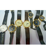 LOT OF 7 VINTAGE GUCCI QUARTZ WATCHES FOR RESTORATION OR PARTS  - $507.69