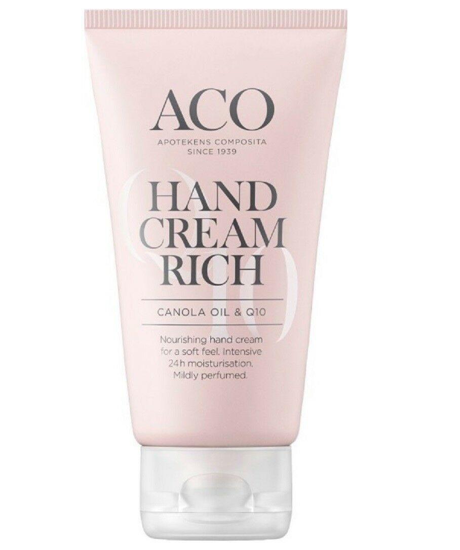 ACO Hand Cream Rich 75 ml x 3 Nos.