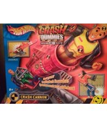 "HOT WHEEL INCREDIBLE CRASH DUMMIES w/CRASH CANNON NEW Includes 5"" Figure... - $65.00"