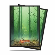 *MTG Mana 5th Anhinjido deck protector forest - $18.02