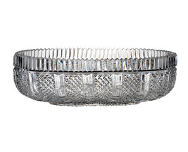 """House of Waterford Crystal Museum Collection 14"""" Oval Bowl Limited Ed 10... - $1,220.18"""