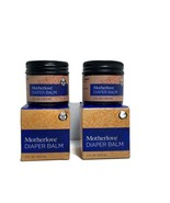 2- Motherlove Diaper Balm For Persistent Rash Organic Ingredient 1oz Jar T3 - $22.64