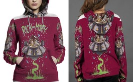 Rick And Morty Hoodie Fullprint  For Women - $43.99+