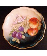 """Antique Floral-Fruit Tray Dish Vintage 11"""" Marked [Handpainted Germany 8... - $19.79"""