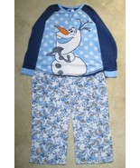 DISNEY FROZEN OLAF FLEECE PAJAMAS WOMENS SIZE 3X fits more like 1X or 2X - $14.99