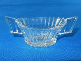 "Vintage Sugar Bowl, 2"" x 4.5"" ~ Heisey Glass, Ridgeleigh Pattern, Depres... - $14.65"