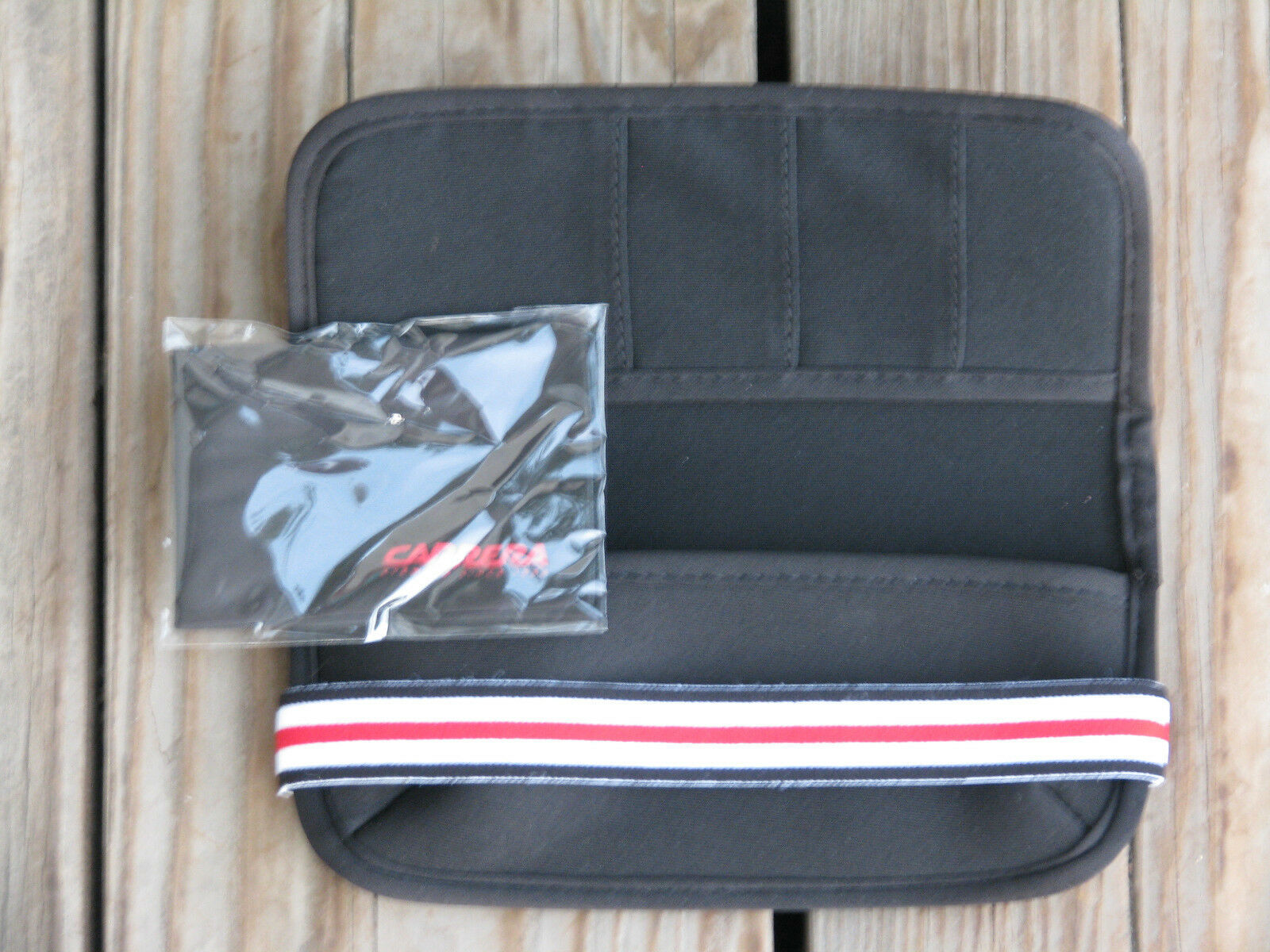 NEW ~ CARRERA Stylish Eyeglass Soft Case and Wallet In One ~ SHIPS FREE - $19.99